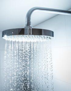 open home shower